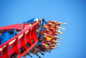 The Patriot Roller Coaster at Worlds of Fun