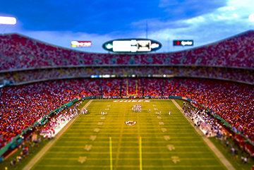 Arrowhead Stadium - Home of the Kansas City Chiefs