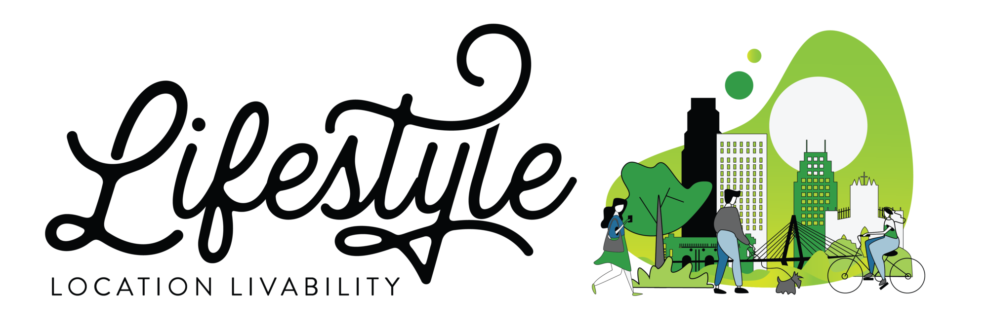 Lifestyle. Location. Livability Logo